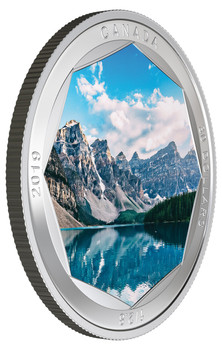 2019 $30 FINE SILVER COIN PETER MCKINNON PHOTO SERIES: MORAINE LAKE