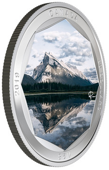 2019 $30 FINE SILVER COIN PETER MCKINNON PHOTO SERIES: MOUNT RUNDLE