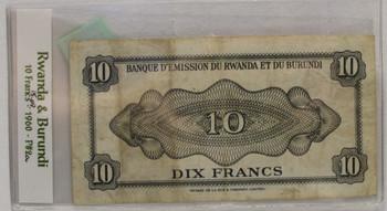 卢旺达·布隆迪(RWANDA BURUNDI)弗兰克银行约会日期9月