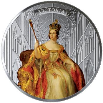 2019 $50 FINE SILVER COIN QUEEN VICTORIA: 200TH ANNIVERSARY OF HER BIRTH
