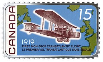 2019 $20 FINE SILVER COIN 100TH ANNIVERSARY OF THE FIRST NON-STOP TRANSATLANTIC FLIGHT