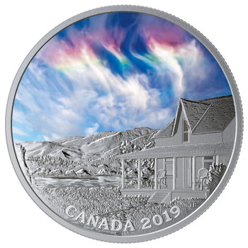 2019 $20 FINE SILVER COIN SKY WONDERS: FIRE RAINBOW