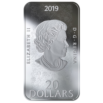 2019 $20 FINE SILVER COIN THE SLEEPING BEAUTY