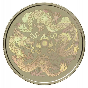 2000 LUNAR HOLOGRAM $150 18K GOLD COIN YEAR OF THE DRAGON