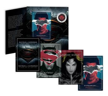SALE - 2016 25-CENT LENTICULAR COIN BATMAN V SUPERMAN: DAWN OF JUSTICE™
