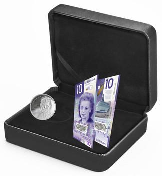 精美银币银行纸币套装Viola Desmond