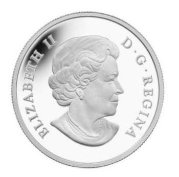 SALE - 2014 $20 FINE SILVER COIN - UNTAMED WILDLIFE - WOLVERINE