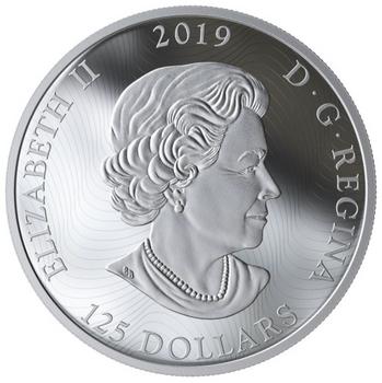 2019 $125 FINE SILVER COIN PRIMAL PREDATORS: THE GRIZZLY