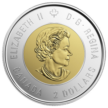 2019 $2 COMMEMORATIVE D-DAY COIN (COLOURED)