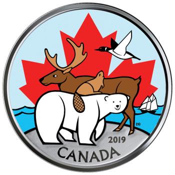 2019 CANADIAN CIRCULATION SET EVERLASTING CANADIAN ICONS