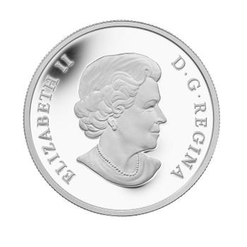 2013 $25 FINE SILVER COIN CANADA: AN ALLEGORY