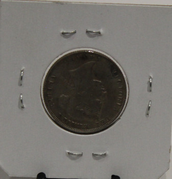 1874 CIRCULATION 25-CENT COIN - H - UNGRADED - AS PICTURED