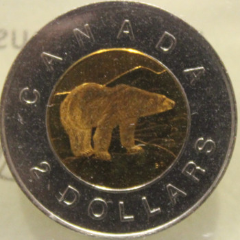 1996 CIRCULATION $2 COIN - MS-64