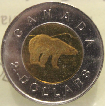1996 CIRCULATION $2 COIN - MS- 64