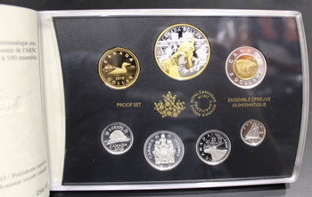 2019 RCNA EDITION FINE SILVER 7-COIN PROOF SET-75TH ANNIVERSARY OF D-DAY - LIMITED TO 100