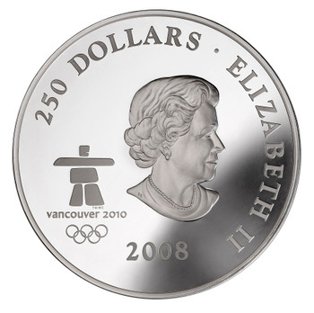 2008 OLYMPIC FINE SILVER KILO - TOWARDS CONFEDERATION