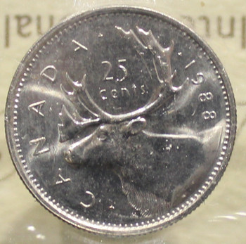 1988 CIRCULATION 25-CENT COIN - MS-65