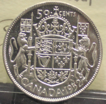 1952 CIRCULATION 50-CENT COIN - MS-64