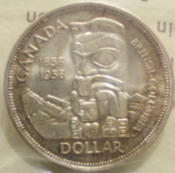 1958 CIRCULATION $1 COIN - MS-63