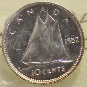 1952 CIRCULATION 10-CENT COIN - MS-63