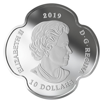2019 $10 FINE SILVER COIN REMEMBRANCE DAY