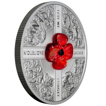 2019 $20 FINE SILVER COIN LEST WE FORGET