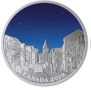 2019 $20 FINE SILVER COIN SKY WONDERS: LIGHT PILLARS