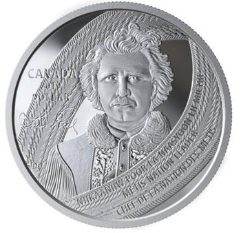 2019 SPECIAL EDITION PROOF SILVER DOLLAR LOUIS RIEL: FATHER OF MANITOBA - LI PAYR DI MANITOBA