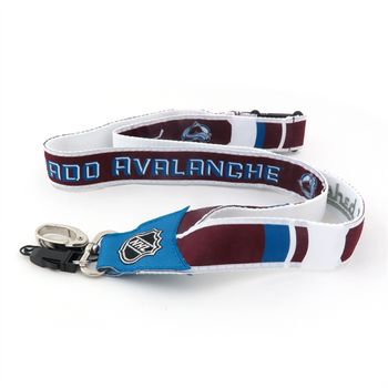 COLORADO AVALANCHE NHL HOCKEY LANYARD - WOVEN