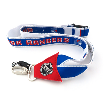 NEW YORK RANGERS NHL HOCKEY LANYARD - WOVEN