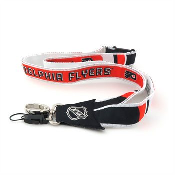 PHILADELPHIA FLYERS NHL HOCKEY LANYARD - WOVEN