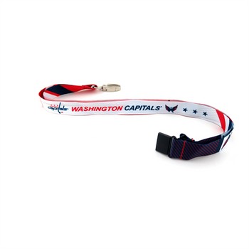 WASHINGTON CAPITALS NHL HOCKEY LANYARD - SUBLAMINATE