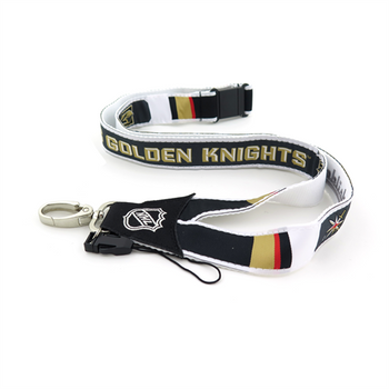 VEGAS GOLDEN KNIGHTS HOCKEY LANYARD - WOVEN