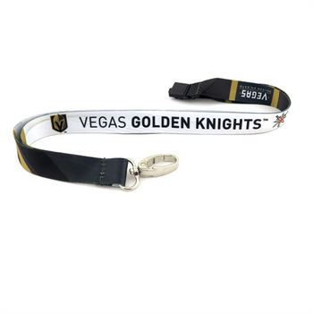 VEGAS GOLDEN KNIGHTS HOCKEY LANYARD - SUBLAMINATE