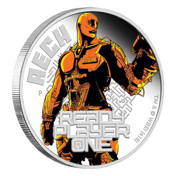 Ready Player One - Aech 2018 1oz Silver Proof Coin - Perth Mint