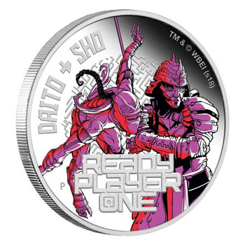 Ready Player One - Daito & Sho 2018 1oz Silver Proof Coin - Perth Mint