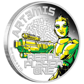 Ready Player One - Art3mis 2018 1oz Silver Proof Coin - Perth Mint