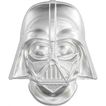 Star Wars – Darth Vader™Helmet Ultra High Relief 2oz Silver Coin