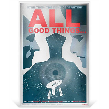 "Star Trek: The Next Generation - ""All Good Things"" - 5g Silver Coin Note"