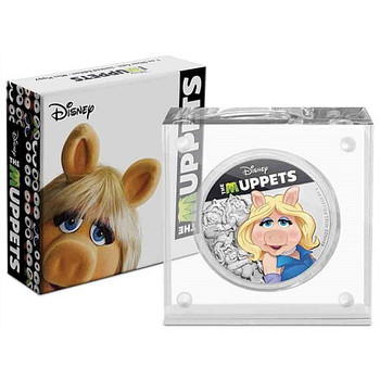 Disney: The Muppets - Miss Piggy 1oz Silver Coin