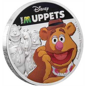 Disney: The Muppets - Fozzie Bear 1oz Silver Coin
