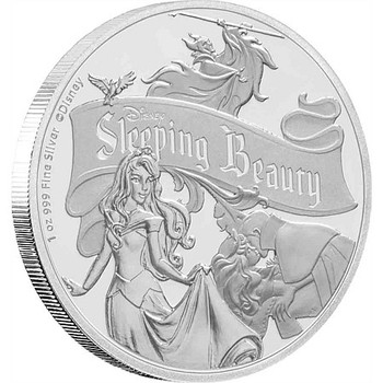 Sleeping Beauty 60th Anniversary - 1oz Silver Coin