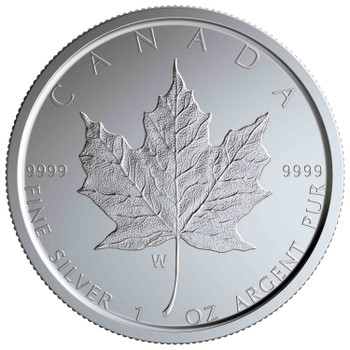 2020 $5 FINE SILVER COIN SILVER MAPLE LEAF – W MINT MARK (WINNIPEG)