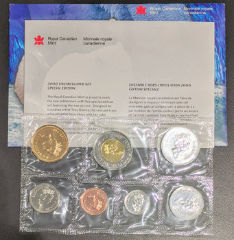 2000 SPECIAL EDITION 3-BEAR TOONIE UNCIRCULATED PROOF LIKE SET