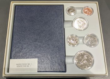 1981 6-COIN SPECIMEN SET