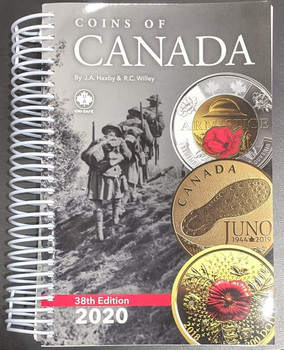 2020 COINS OF CANADA - 38TH EDITION - HAXBY & WILLEY