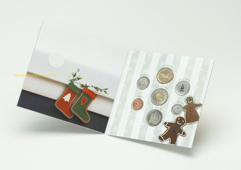 SALE - 2007 HOLIDAY GIFT SET - COLOURIZED CHRISTMAS TREE QUARTER