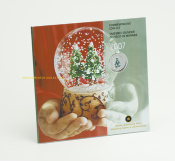 SALE - 2007 HOLIDAY GIFT SET - COLOURIZED CHRISTMAS TREE QUARTER