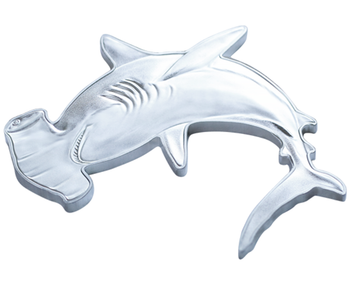 2020 1 oz. PURE SILVER COIN - GREAT HAMMERHEAD SHARK
