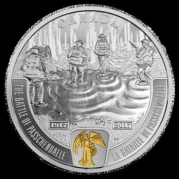 2017 FIRST WORLD WAR BATTLEFRONT SERIES: PASSCHENDAELE FINE SILVER $20 COIN